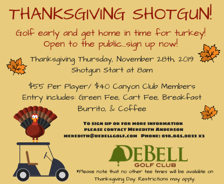 Pop Up Thanksgiving Shotgun DeBell